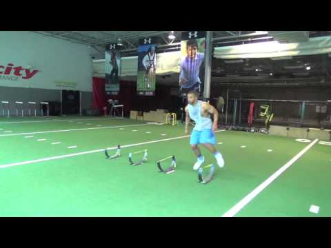 Alvin Scioneaux LB 6'2 230lbs Workout Drills May 2016