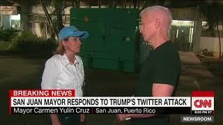 San Juan mayor on Trump: No time for this