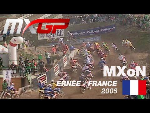 FIM Motocross of Nations History - Ep.5 - 2005 - France, ERNEE #Motocross