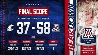 Highlights: Wildcats run by WSU 58-37