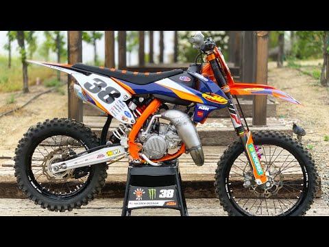 "Motocross Action tests Haiden ""Danger Boy"" Deegan KTM 112cc Two Stroke"