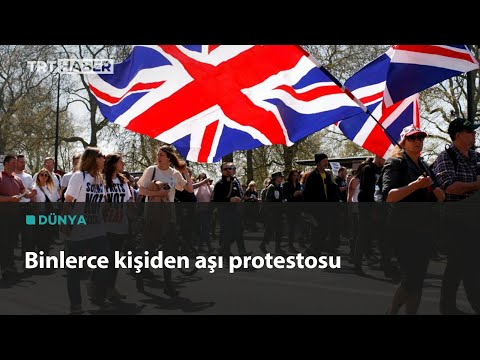 Londra'da binlerce kişi tedbirleri protesto etti