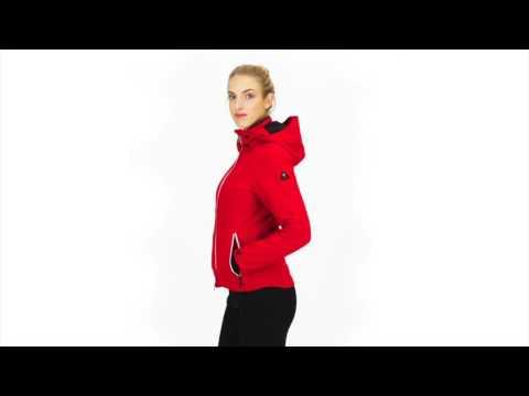 Bogner Sierra Womens Ski Jacket in Red