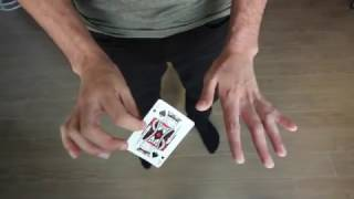 Card Trick Tutorial - Make A Card Vanish At Your Fingertips [HD]