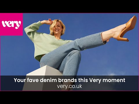 very.co.uk & Very Promo Code video: Your fave denim brands this Very moment