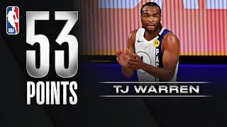 TJ Warren Caught 🔥 For Career-High 53 PTS!