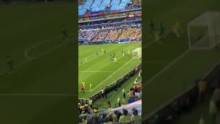 Live reaction to Yerry Mina winning goal. Colombia vs Senegal 2018 FIFA World Cup Russia