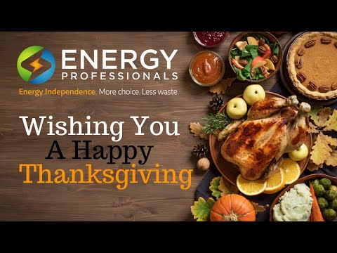 Happy Thanks Giving From Energy Professionals