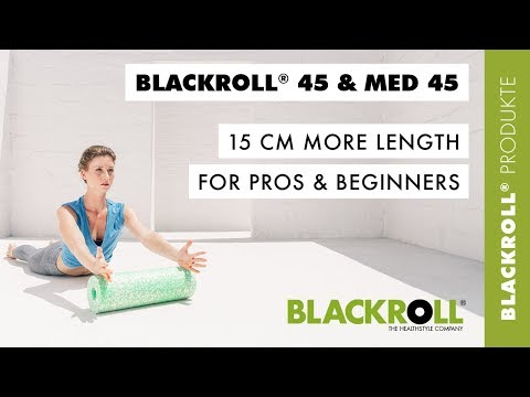 "NEW - ""BLACKROLL® 45"": Your Best Friend on the Mat"