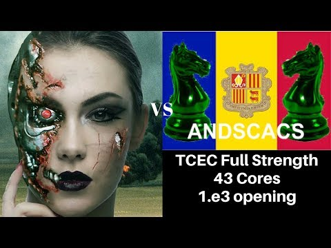 1.e3 Chess Opening (Van't Kruijs) : TCEC : Leela Chess with 2 Graphics Cards vs AndScacs on 43 cores