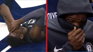 Caris LeVert SCARY Leg Injury - Broken Leg   November 12, 2018   2018-19 NBA Season