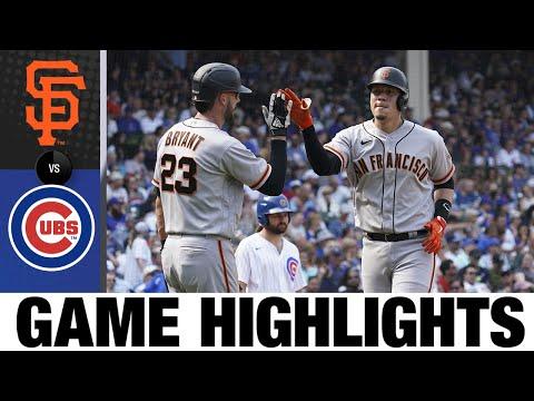 Giants vs. Cubs Game Highlights (9/12/21) | MLB Highlights