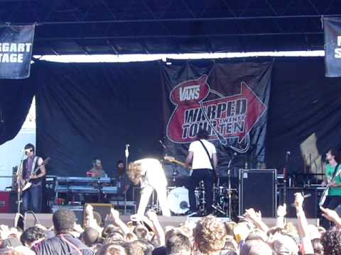 WARPED TOUR 2010: All-American Rejects - Don't Leave Me - Mountain View
