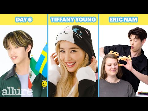 Day6, Eric Nam, Tiffany Young and More K-Pop Artists Try 9 Things They've Never Done Before | Allure