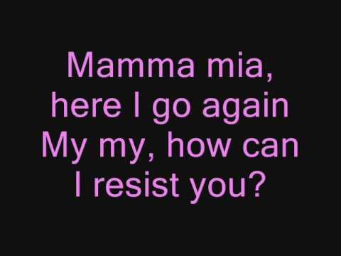 ABBA- Mamma Mia (with Lyrics)