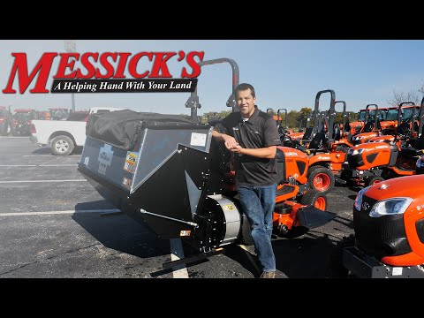 TerraKing Hopper Catcher for  Kubota BX $3995 | Product Walk-around Picture