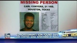Congressman John Conyers' missing son Carl found safe