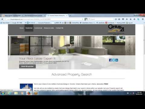 How to automatically send out exclusive real estate listing alerts from a real estate website.