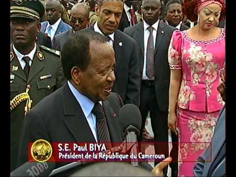 Interview de S.E. Paul BIYA à Buea après l'inauguration du monument de la Réunification