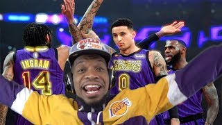 DO THIS EVERY GAME INGRAM!! LAKERS vs JAZZ HIGHLIGHTS