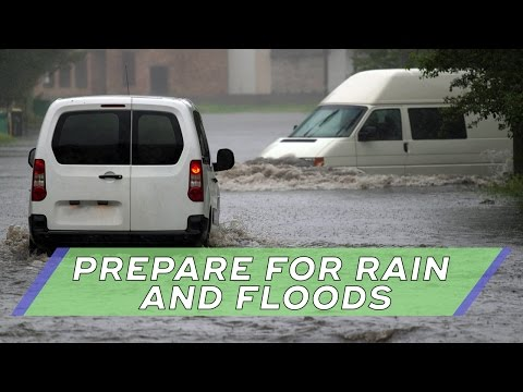 3 Ways To Prepare For A Rain Storm and Flood