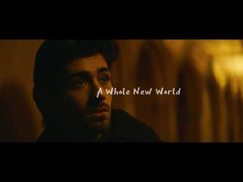 ZAYN, Zhavia Ward - A Whole New World (Lyrics Video) (From