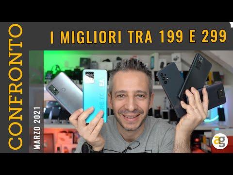 I MIGLIORI SMARTPHONE da 199 a 299 euro. …