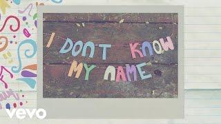 Grace VanderWaal - I Don't Know My Name (Lyric)