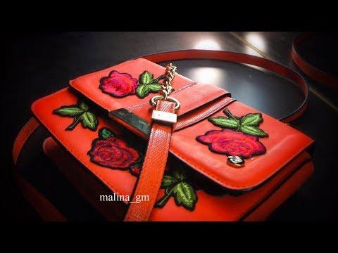 DIY| simple design for bag | Простой дизайн для сумки