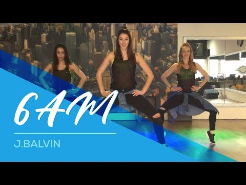 6AM - J.Balvin - Cumbia-Merengue version - Easy Fitness Dance Choreography