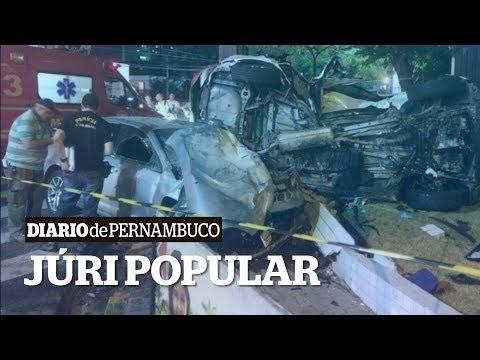 Universitário preso por acidente na Tamarineira deve ir a júri popular