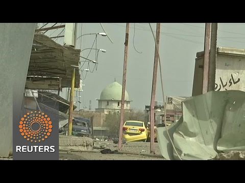 Iraqi forces close in on Mosul mosque