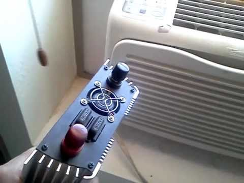 My Solar Powered Air Conditioner Youtube