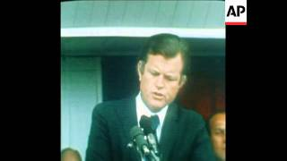 SYND 6 7 73  KENNEDY SPEECH AT RALLY WITH GOVERNOR WALLACE