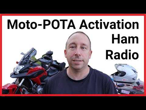 Ham Radio Motorcycle Parks on the Air POTA