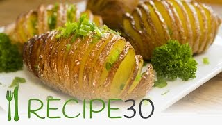 HASSELBACK POTATOES  the baked potato recipe - Recipe30
