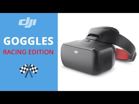 video Lunettes FPV DJI Goggles Racing Edition