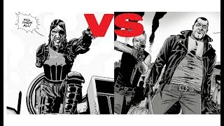 The Walking Dead: The Governor Attacks Negan & The Saviors All Out War!