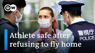 Belarus Olympic athlete seeks asylum at Polish embassy in Tokyo | DW News