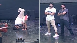 Vijay Devarakonda superb dance for ROWDY theme song..