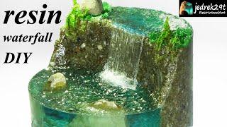 How to Make a Waterfall. Realistic Diorama / RESIN ART