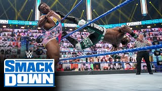 Big E vs. Apollo Crews – Intercontinental Title Match: SmackDown, April 30, 2021