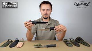 video - Nože MIKOV UTON vz.75 a jejich pouzdra - Military Range