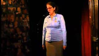 Frau Scholten in der kleinen Kneipe