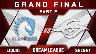 Secret vs Liquid Grand Final DreamLeague 8 Major 2017 Highlights Dota 2 - Part 2