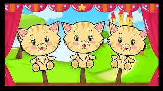Trois Petits Chats - Comptines et chansons pour les petits - Titounis