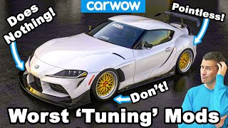 Stupid tuning modifications that actually make your car WORSE!