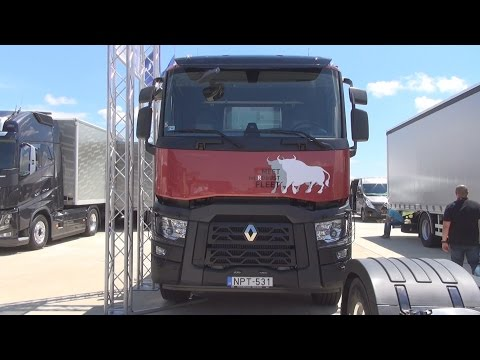 Renault Trucks C 430 Comfort Truck (2016) Exterior and Interior in 3D