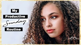 Mya-Lecia | My Productive Sunday Routine