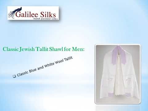 Find Israel's Authentic Modern Men Tallitot at the Best Price!